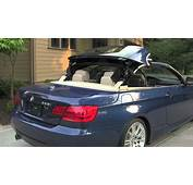 Retractable Hardtop For 2012 BMW 335i Convertible  YouTube