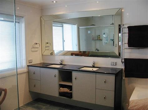 Beveled Mirror Bathroom | decorating the house with beveled mirrors