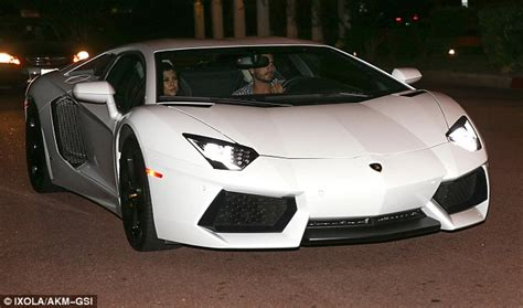 Disick Lamborghini Mini Minx Kourtney Goes Out For Dinner With