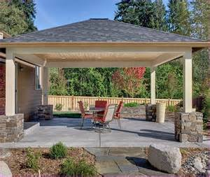 Free Standing Patio Cover Designs by Patio Cover Plans Designs Home Design Ideas