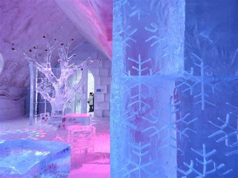 ice hotel quebec bathroom winter carnival countertop home design idea