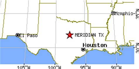 meridian texas map meridian texas tx population data races housing economy