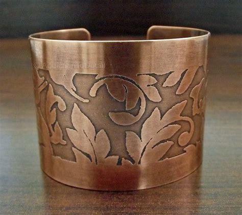 Handmade Copper Cuff Bracelet - copper cuff bracelet copper jewelry handmade copper