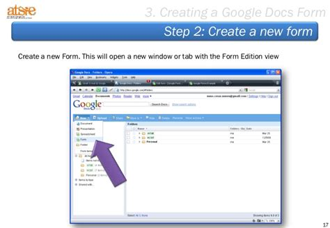 design with google docs step by step to create a form based on google docs