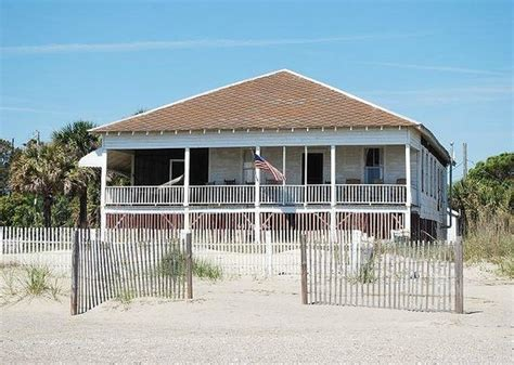 oceanfront cottages tybee the randolph cottage picture of tybee cottages tybee