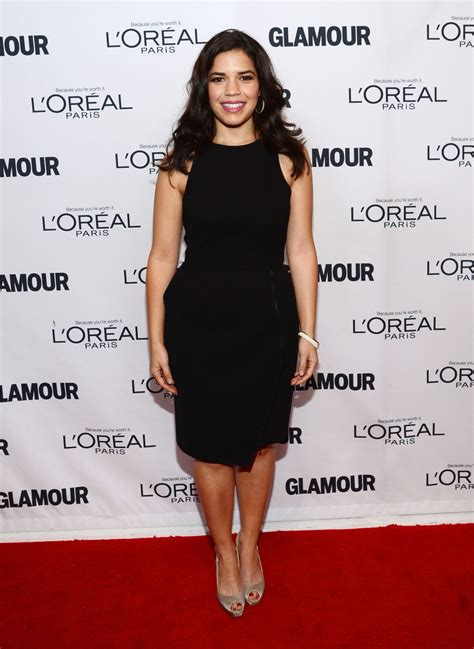 Glamours Of The Year Awards by America Ferrera 2013 Of The Year Awards In
