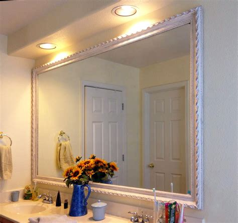 Framed Bathroom Vanity Mirrors Framed Bathroom Mirrors