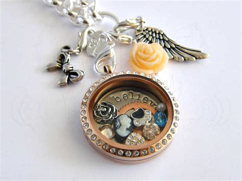 Cheap Origami Owl Lockets - origami owl living locket by emagyne on deviantart