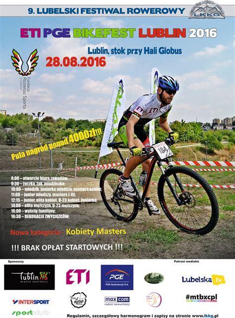 Plakat Lublin by Plakat Bikefest Lublin 2016 Mtb Xc Pl