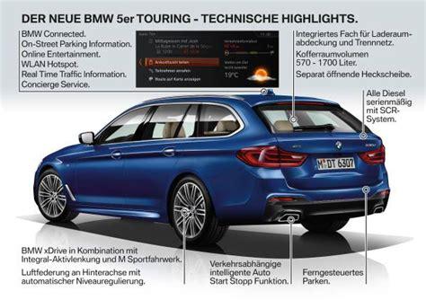 Bmw 1er Diesel Adblue by Der Neue Bmw 5er Touring