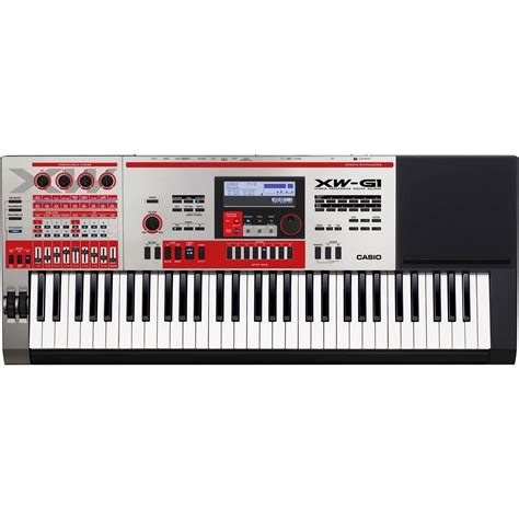 casio xw g1 groove synthesizer xw g1 b h photo