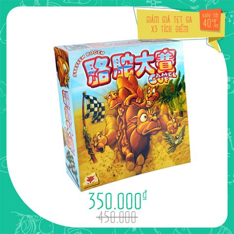 Promo Camel Up Board camel up mua board camel up tại boardgamevn