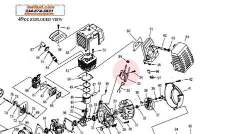 49cc pocket bike engine diagram 49cc ignition coil buy