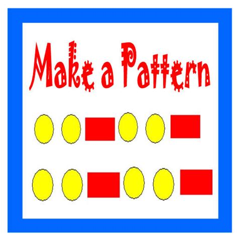 what is pattern in math math patterns activities