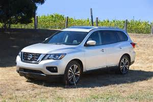 new car nissan 2017 nissan pathfinder new car review autotrader