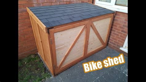 bike shed diy youtube