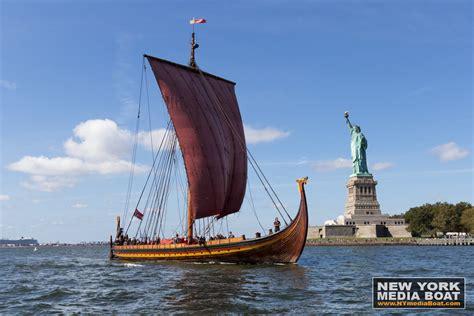 archaeological boat tour of chicago viking invasion of new york harbor new york media boat