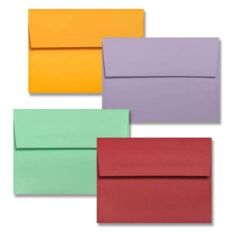 color envelopes colorplan a6 4 75 quot x 6 5 quot envelopes 44 different colors 91