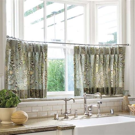 kitchen curtains pinterest cafe curtains home kitchen pinterest