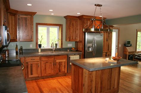 antique reclaimed chestnut kitchen cabinets traditional
