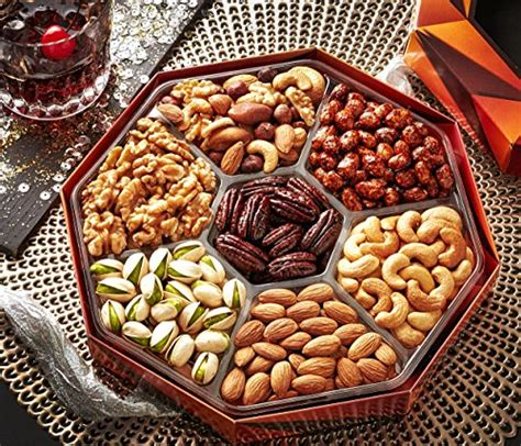 holiday gourmet food nuts gift basket 7 different nuts five star gift baskets magnificent gift baskets gourmet food nuts gift basket 7 different delicious nuts buy