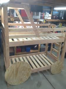 deere tractor bunk bed build along project lone