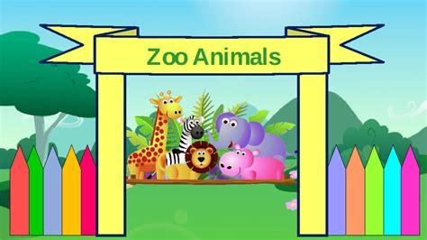 powerpoint templates zoo zoo animals powerpoint