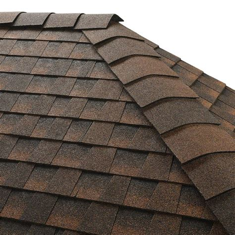 gaf timbertex hickory hip and ridge shingles 20 linear ft