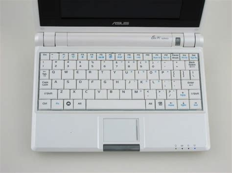 Keyboard Asus Eee Pc 4g asus eee pc 4g review notebookreview
