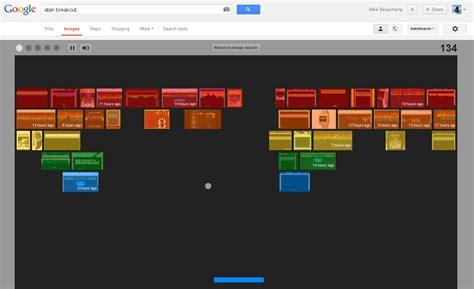 google images game trick atari breakout google related keywords atari breakout