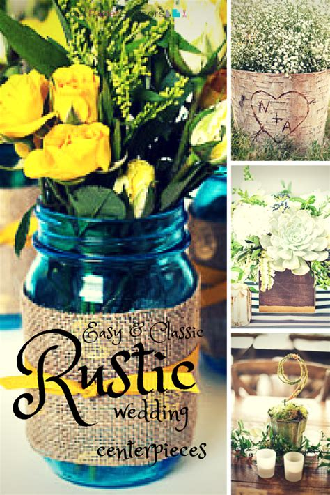 centerpieces craft wedding trend rustic summer wedding centerpieces craft