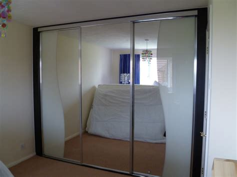 Mirror Wardrobe by Mirrored Door Wardrobe Designs Nottingham Sliding Doors