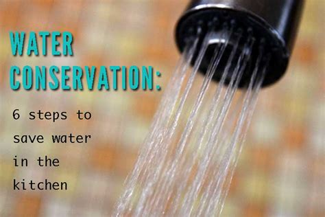 6 ways to save water in the kitchen hilah cooking