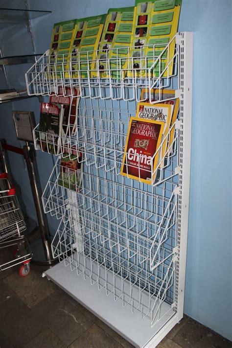 Jual Rak Display Majalah jual rak gondola untuk display majalah