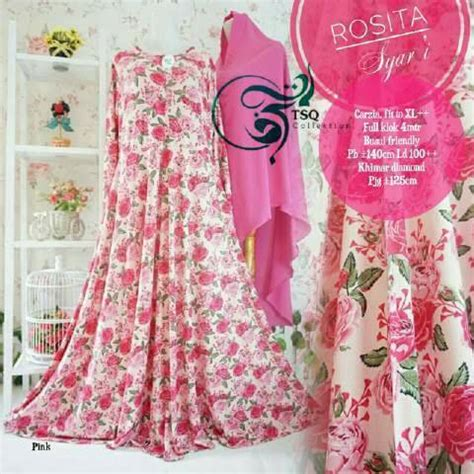 Gamis Umbrella Syari Black gamis cantik rosita syar i umbrella butik jingga