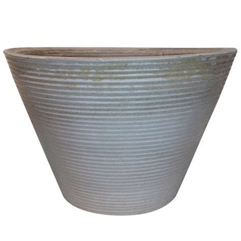 Ceramic Planters Large by Large Ceramic Midcentury Planter At 1stdibs