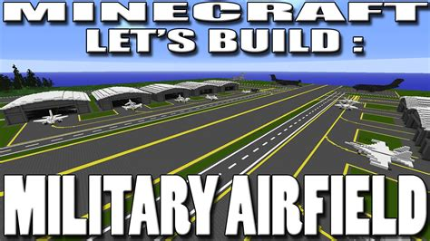 Air Force 1 Layout minecraft let s build military airfield planning ep1