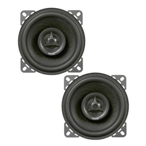 Speaker Morel Maximo 2 Way morel maximo coax 4 4 quot 2 way 45w maximo series coaxial speakers at onlinecarstereo