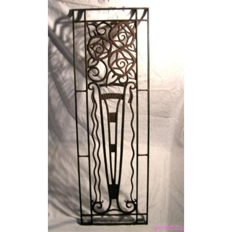 deco wall panels fabulous wrought iron deco wall panel deco dave