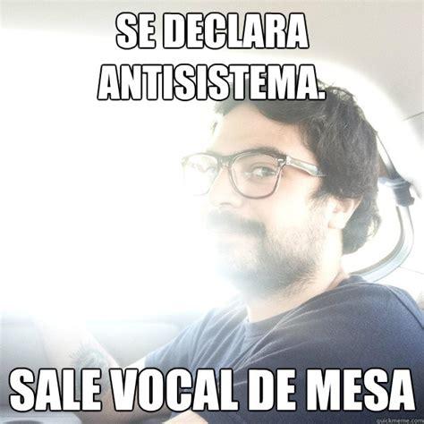 sle of vocal fry se declara antisistema sale vocal de mesa maritoyeah