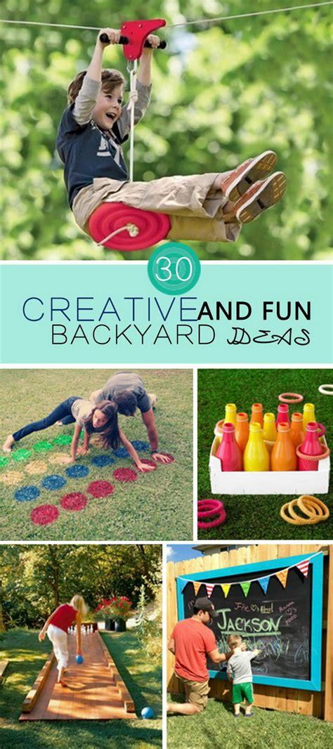backyard fun ideas 30 creative and fun backyard ideas hative