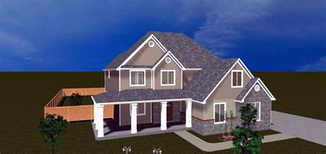 Craftsman Houseplans Elevation Of House Plan 50413 House Plans Pinterest