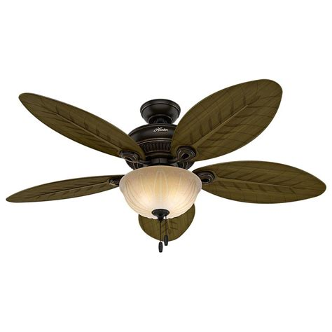 indoor outdoor ceiling fan with light grand cayman 54 in indoor outdoor onyx bengal