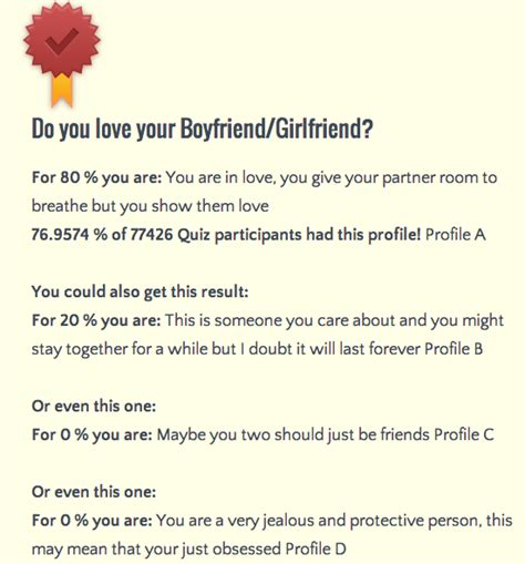 do you actually love your boyfriend girlfriend medium
