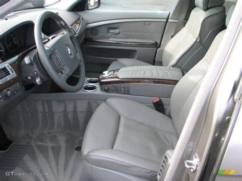 Bmw 745i Interior by Flannel Grey Interior 2002 Bmw 7 Series 745i Sedan Photo