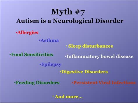 The Myth Of Autism myths about autism