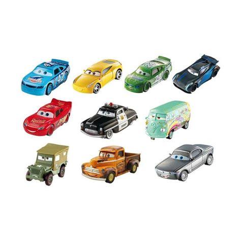 Die Cast Hotwheel Isi 10pcs jual mattel disney cars 3 piston cup collection set