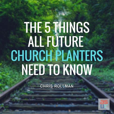 Church Planters Needed five things all future church planters need to