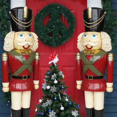 heinimex life sized nutcracker pair 6 tall