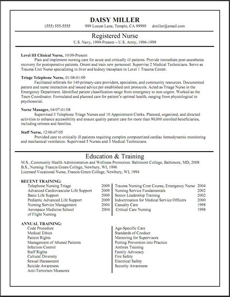 Best Resume Sles For Nurses practitioner resume sles 28 images international
